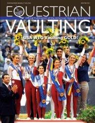Equestrian Vaulting Magazine Winter 2011 - Megan Benjamin
