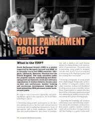 youth parliament project - International Debate Education Association