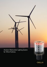 Aviation Obstruction Lighting System for Wind Turbines - Obelux