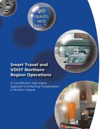 Smart Travel and VDOT Northern Region Operations - Virginia ...