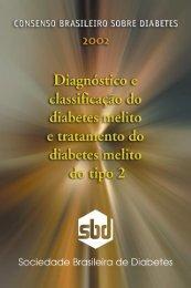 Consenso brasileiro sobre diabetes 2002 - Sociedade Brasileira de ...