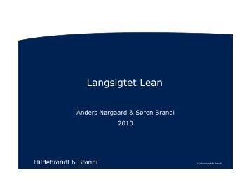 Forandringens Vaner - Hildebrandt & Brandi