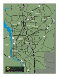 a printable map and detailed driving directions to all Greystone ...