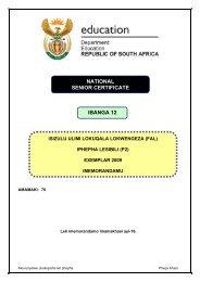 IsiZulu FAL P2 Exemplar 2009 Memo.pdf