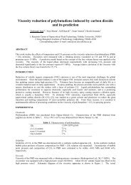 Viscosity Reduction of Polybutadiene Induced by ... - ISSF 2012