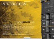 INTRODUCTION? - SKP Pro Audio
