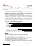 Taking energy efficiency to the next level - White ... - Arrow Electronics - Page 2
