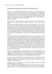 Forklarende noter til Ciceros brev til Quintus fra efteråret 60 fvt.