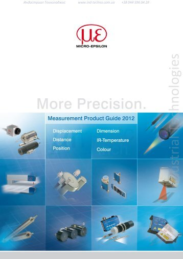 Measurement Product Guide - Industrial Technologies