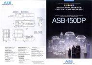NISSEI ASB MACHINE CO., LTD. - Nissei ASB Polska
