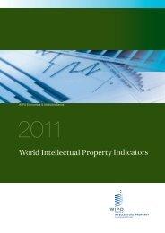 World Intellectual Property Indicators - 2011 - WIPO