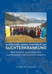 FOLDER-Symposium zur - Sucht und Drogen