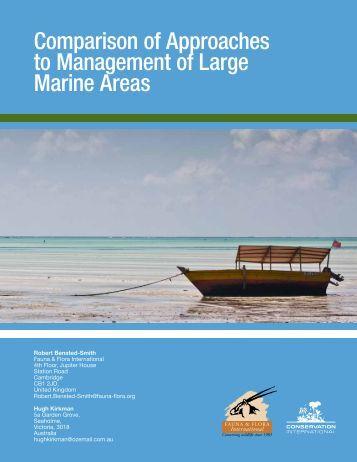 Workshop_files/Management of Large Marine ... - Workshop 2013