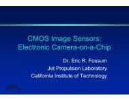 CMOS Image Sensors Camera on a Chip - Eric Fossum