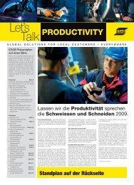 Productivity - Esab