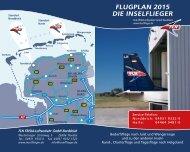 FLUGPLAN DIE INSELFLIEGER - FLN - Norddeich