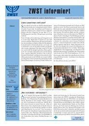 Mobile - Zentralwohlfahrtsstelle der Juden in Deutschland eV