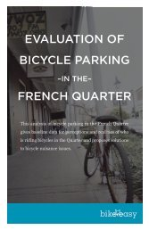EVALUATION OF BICYCLE PARKING FRENCH ... - Bike Easy
