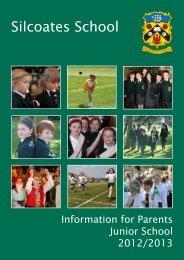 Junior Handbook - Silcoates School