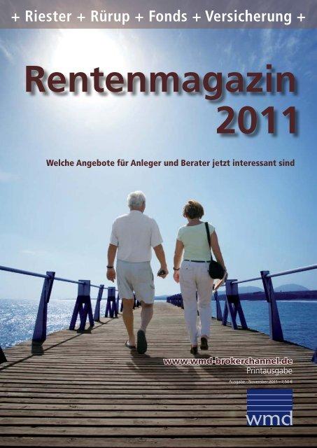 Rentenmagazin 2011 - WMD Brokerchannel