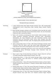 undang-undang republik indonesia nomor 33 tahun 2004 tentang ...