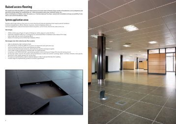 raised access flooring - Porcelanosa