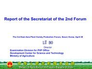 Report of the Secretariat of the 2nd Forum LÜ BO - The East Asia ...