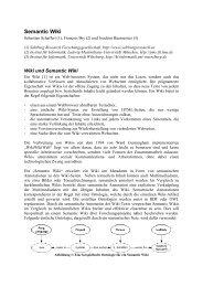 Semantic Wiki - Ludwig-Maximilians-Universität München