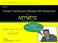 Tornado Tracking and Damage Path Assessment - Forsyth County ...
