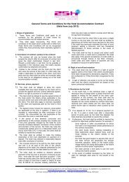 General Terms and Conditions for the Hotel ... - 25hours Hotels