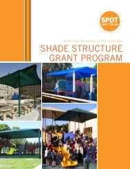 shade structure grant program - American Academy of Dermatology