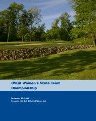 USGA Women's State Team Championship