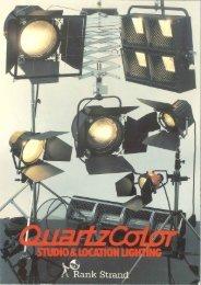 Quartzcolor Range brochure from 1982 - The Strand Archive