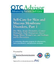 Self-Care for Skin and Mucous Membrane Disorders, Part 1 Self ...