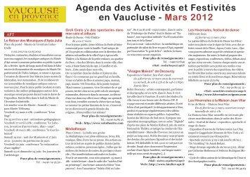 Mars_2012_Mise en page 1 - Un coin Tranquille en Provence L ...