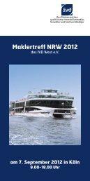 Maklertreff NRW 2012 - ImmonetManager