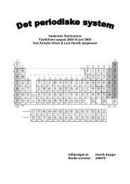 Haderslev Seminarium Fysik Kemi august - Undervisning på Esager ...