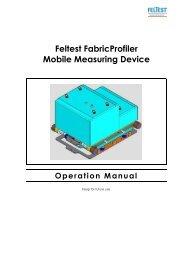 Feltest FabricProfiler Mobile Measuring Device - QIND - Login