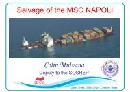 Salvage of the MSC NAPOLI Colin Mulvana - Sergofi