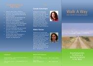 Walk A Way - Claudia Schachinger