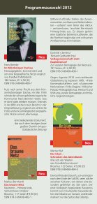 Programmauswahl 2012 - Seite 2