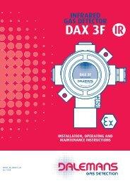 Détecteur DAX 3F-IR - Dalemans Gas Detection