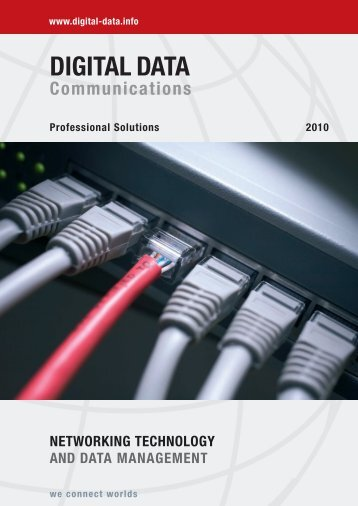 DIGITAL DATA Communications we connect worlds www ... - SEVIAN