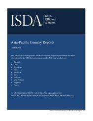 Asia-Pacific Country Reports - ISDA
