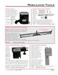 rebuilding tools view catalog - Pianotek Supply Company - Page 2