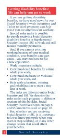 2012 Working While Disabled - ESRD Network of New England - Page 4