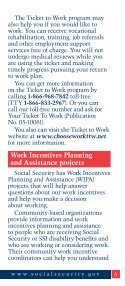 2012 Working While Disabled - ESRD Network of New England - Page 5