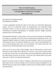 Rede im Kreistag Waldeck-Frankenberg zur Schulsozialarbeit im ...
