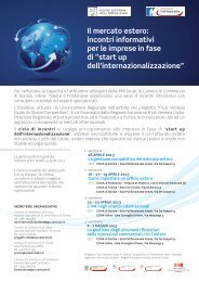 up dell'internazionalizzazione - CCIAA di Pordenone - Camere di ...