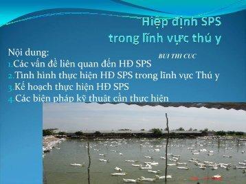 """Hiệp định """"Áp dụng các biện pháp vệ sinh và Kiểm ... - SPS Việt Nam"""